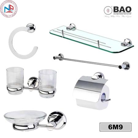 Bộ phụ kiện phòng tắm BAO 6M9