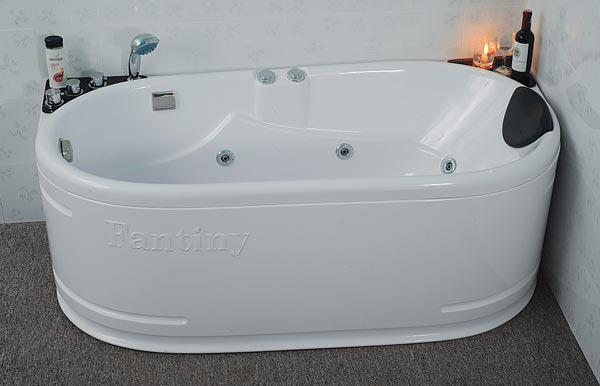 Bồn tắm massage Fantiny MBM-160L (Composite, Yếm trái)