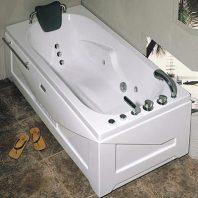Bồn tắm massage Nofer NG-5502P(R) (sục khí, đế ngọc trai)