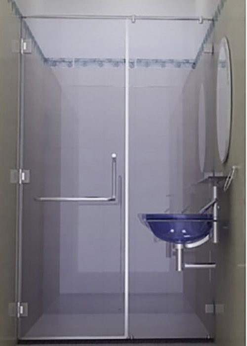 Vách tắm kính theo yêu cầu ZKY