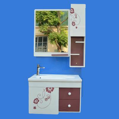 Bộ tủ chậu PVC cao cấp BROSS 715-2