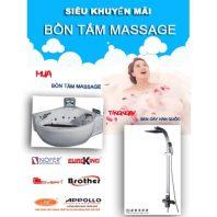 Siêu khuyến mãi bồn tắm massage