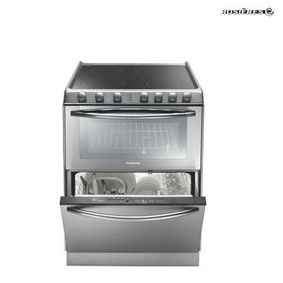 Bếp kèm lò nướng và ngăn giữ ấm Rosieres TRIPLE10V