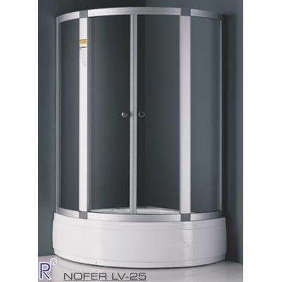 Phòng tắm vách kính Nofer LV-25 (Kính màu)
