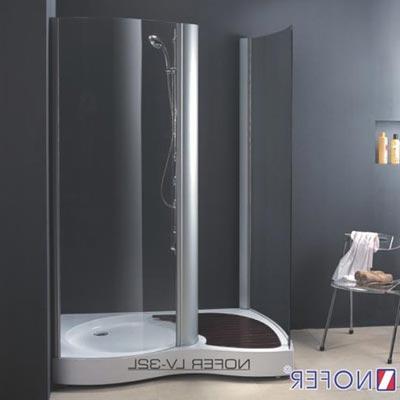 Phòng tắm vách kính Nofer LV-32P-A (Đế ngọc trai)