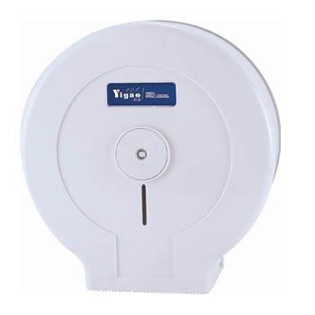 Hộp đựng giấy vệ sinh cuộn lớn A618 (nhựa trắng)