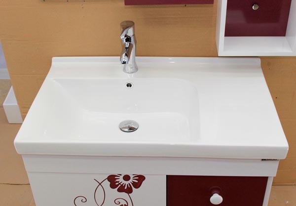Tủ chậu lavabo nhựa PVC BROSS 715-1