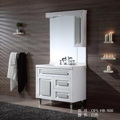 Bộ tủ chậu PVC cao cấp NP-HB-900