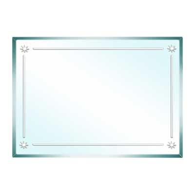 Gương phòng tắm Đình Quốc DQ4225