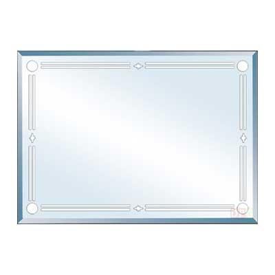 Gương phòng tắm Đình Quốc DQ811