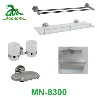 Bộ phụ kiện phòng tắm inox 304 Moonoah MN-8300