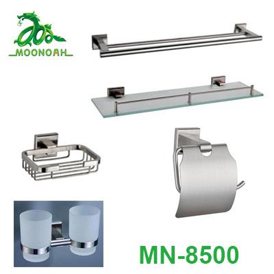 Bộ phụ kiện phòng tắm inox 304 Moonoah MN-8500