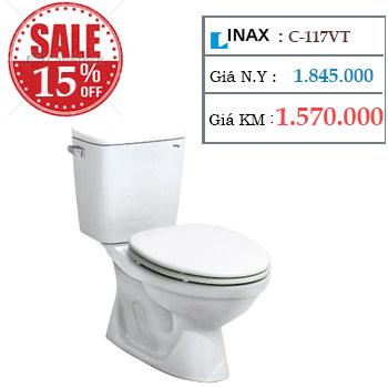 Khuyến mãi bồn cầu INAX