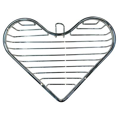 Kệ góc trái tim 1 tầng inox 304