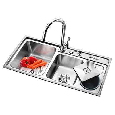 Chậu rửa bát Kangaroo KG9143