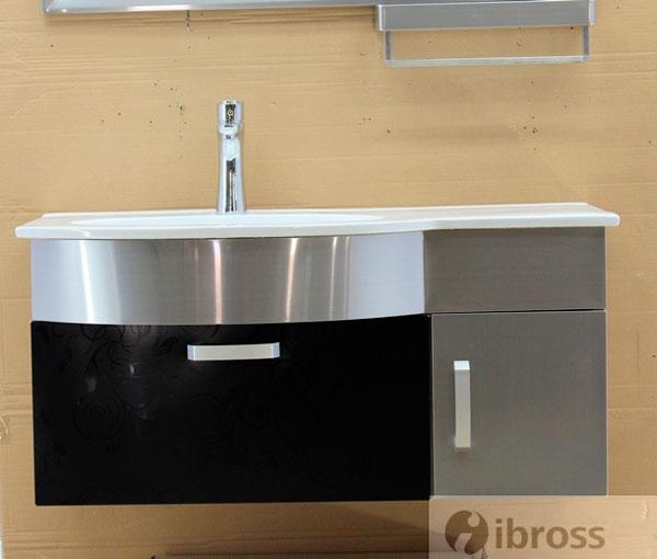 Bộ tủ chậu BROSS S-0201A Inox SUS 304 cao cấp