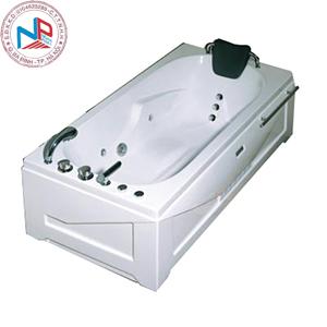 Bồn tắm massage Nofer NG-5502PL (sục khí, đế ngọc trai)