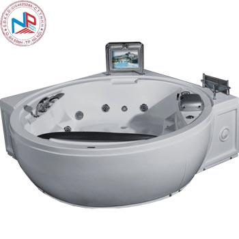 Bồn tắm massage Nofer PM-1818 (có sục khí, Tivi)