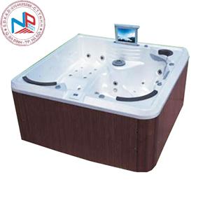 Bồn tắm massage Nofer SPA-005 (có sục khí, Tivi LCD)