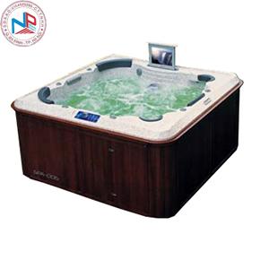 Bồn tắm massage Nofer SPA-006 (có sục khí, Tivi LCD)