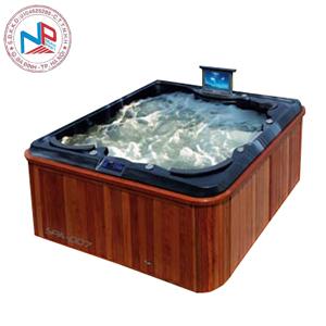 Bồn tắm massage Nofer SPA-007 (có sục khí, Tivi LCD)