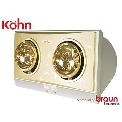 Đèn sưởi nhà tắm Braun Kohn KP02G