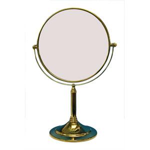 Gương trang điểm mạ vàng G213