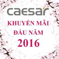 Khuyến mãi Caesar đầu năm 2016