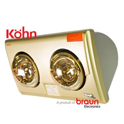 Đèn sưởi nhà tắm Braun Kohn KU02G