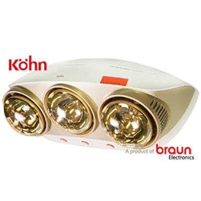 Đèn sưởi nhà tắm Braun Kohn KU03G