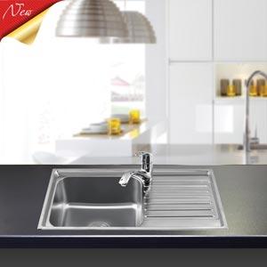 Chậu rửa bát liền khối Sơn Hà S78 Premium (inox 304)