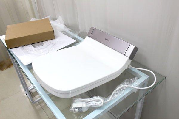Nắp rửa bồn cầu điện tử chữ D Duravit 610200002011000