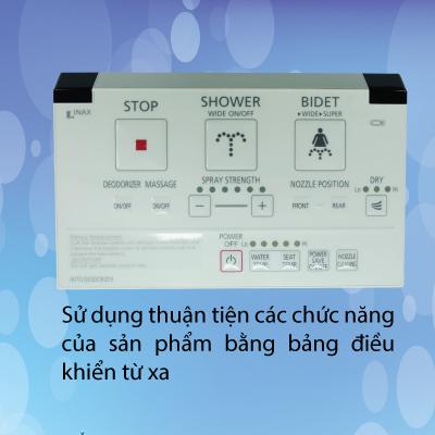 Nắp rửa điện tử Inax CW-KA22AVN -2