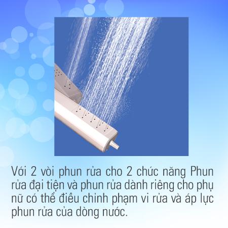 Nắp rửa điện tử Inax CW-KA22AVN -5
