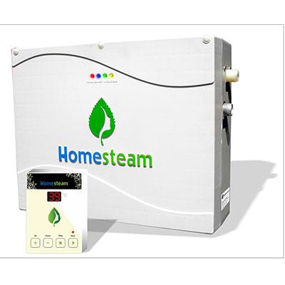 Máy xông hơi ướt HomeSteam màu trắng icon