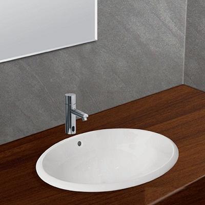 Chậu rửa lavabo âm bàn Viglacera CD21