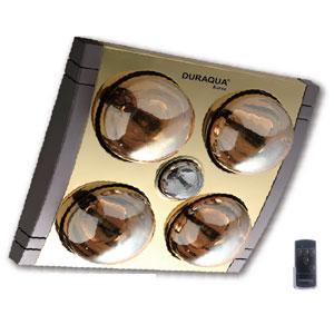 Đèn sưởi âm trần Duraqua D4RC (có điều khiển từ xa)