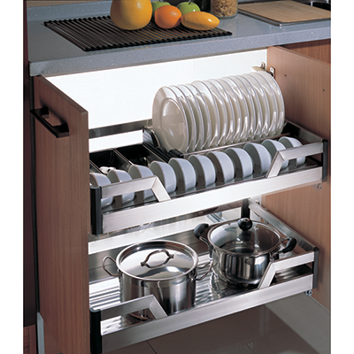 Giá để bát đĩa tủ dưới Faster FS E080890