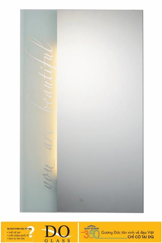 Gương đèn LED Đình Quốc DQ 67017 (50×70)