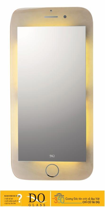 Gương đèn LED Đình Quốc DQ 67018 (50x70 cm)
