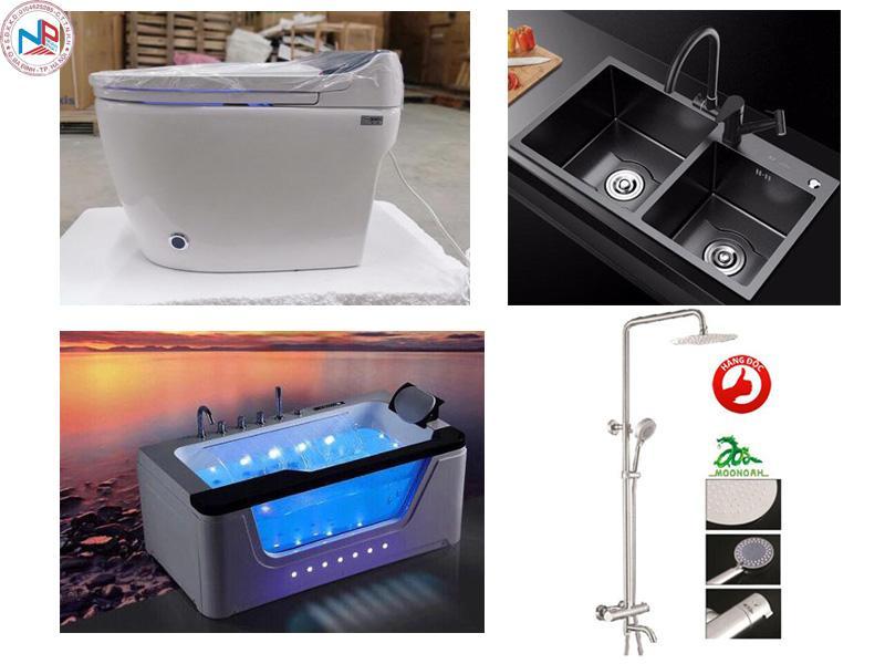 Sen tắm và vòi lavabo vòi rửa bát làm nên thương hiệu thiết bị vệ sinh moonoah 1