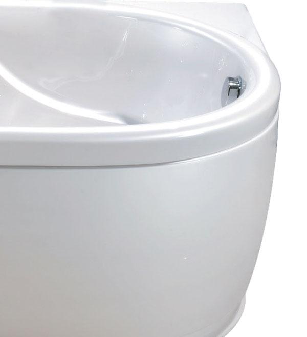 Bồn tắm MICIO PB-160L (Ngọc Trai, Yếm trái)