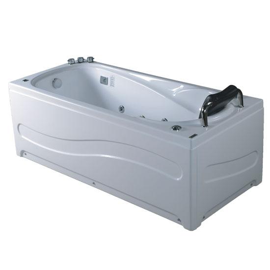 Bồn tắm massage Acrylic MICIO WM-150L (Yếm trái)