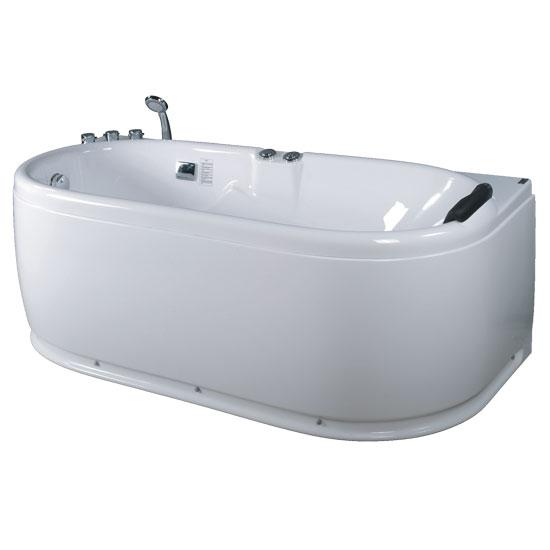 Bồn tắm massage Acrylic MICIO WM-160L (Yếm trái)