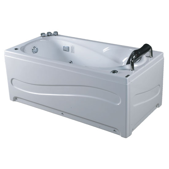 Bồn tắm massage Acrylic MICIO WM-170L (Yếm trái)