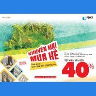 INAX – Khuyến mãi mùa hè 2016