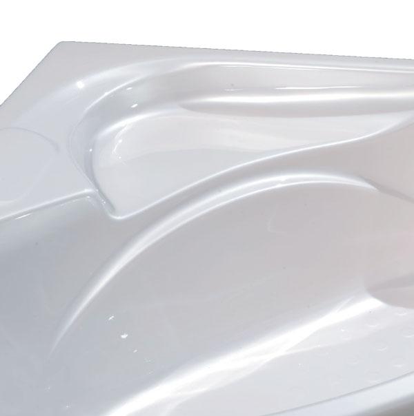 Bồn tắm góc MICIO PB-140T (Ngọc Trai)