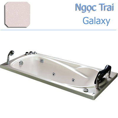 Bồn tắm xây massage MICIO P-170M (ngọc trai)
