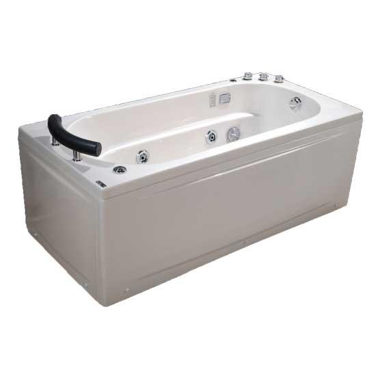 Bồn tắm massage ngọc trai MICIO PMN-170R (Yếm phải)
