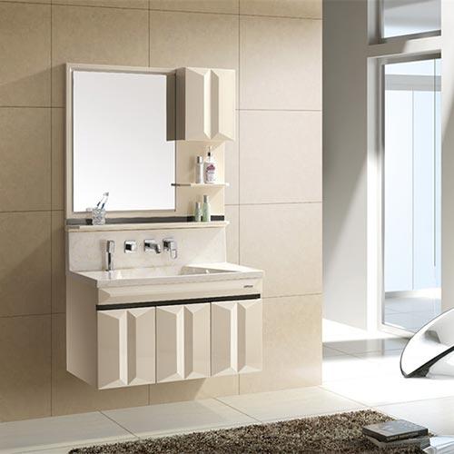 Tủ chậu phòng tắm bằng nhựa PVC